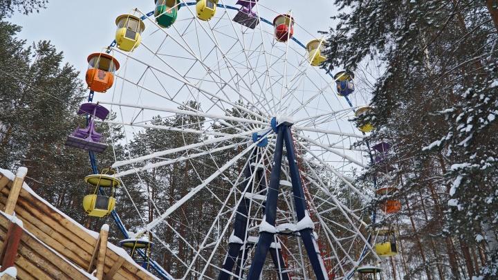 Колесо и автодром из Балатовского парка продали в другой регион