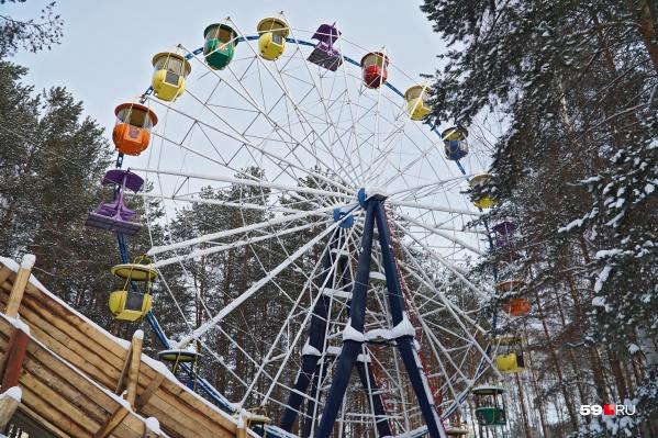 Балатовское колесо обозрения демонтируют весной