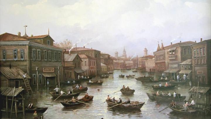 «Вряд ли она была такой сказочной»: в Сети появились картины с видами Самары конца XIX века