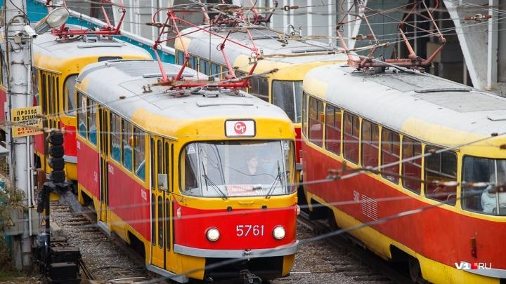 В Волгограде поменяют линию скоростного трамвая