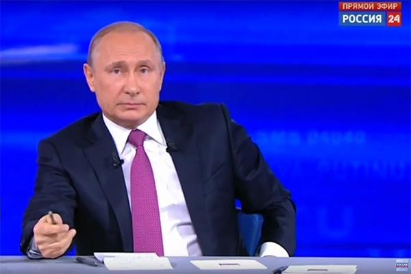 Владимир Путин ответил на вопрос новосибирского бизнесмена
