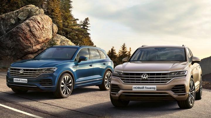 Новый Volkswagen Touareg, или «Да здравствует король!»
