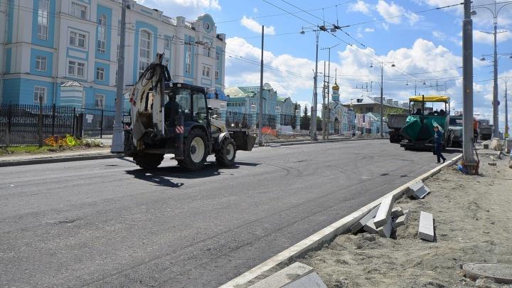 ГИБДД попросила открыть улицу Репина сразу после выходных