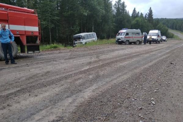 Следователи считают, что у автобуса заглох двигатель и отказали тормоза