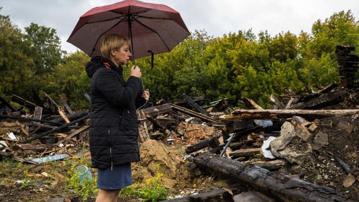 Жителям сгоревшего барака пообещали дать 12 миллионов на новые квартиры