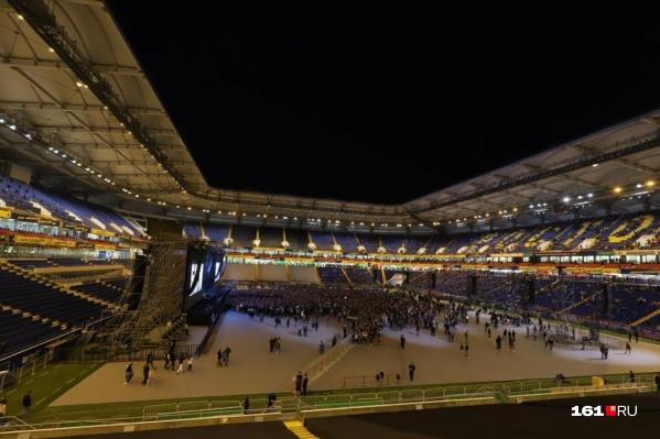 Нарушения касалисьобязательных требований стандартов и строительных норм на стадионе
