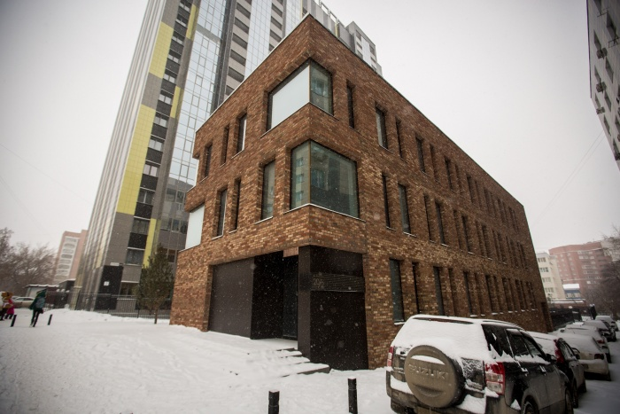 Здание построили на улице Восход