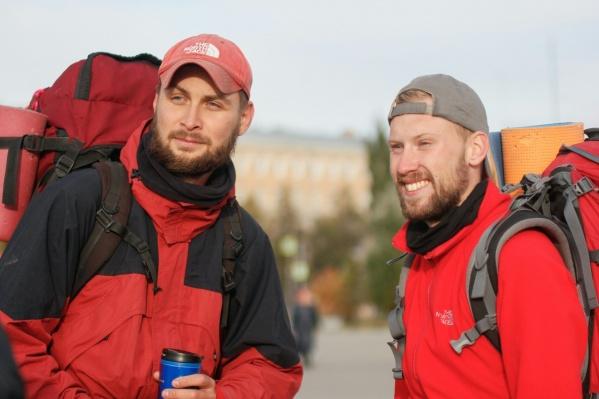 Константин Пименов и Сергей Захарченко живут в Санкт-Петербурге