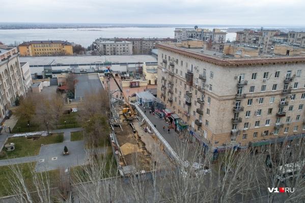 Переулок уже никогда не вернется к своему историческому облику