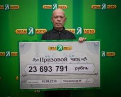 Пенсионер из Уфы выиграл 23 миллиона рублей