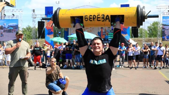 Назван самый сильный человек Красноярска