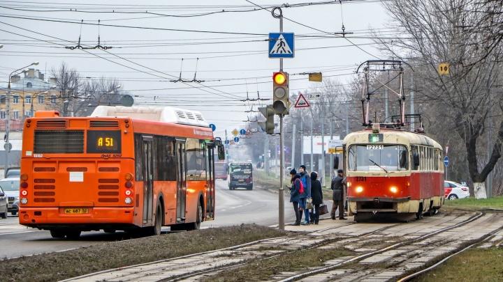 Из-за ДТП в Сормовском районе перестали ходить трамваи № 6