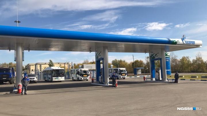 Метановую заправку возле ПАТП № 8 откроют в следующем году