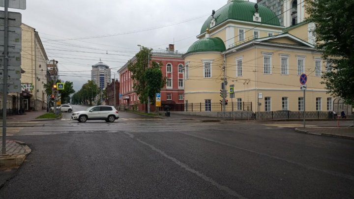 В Перми после раскопок открыли дорогу на улице Газеты «Звезда»