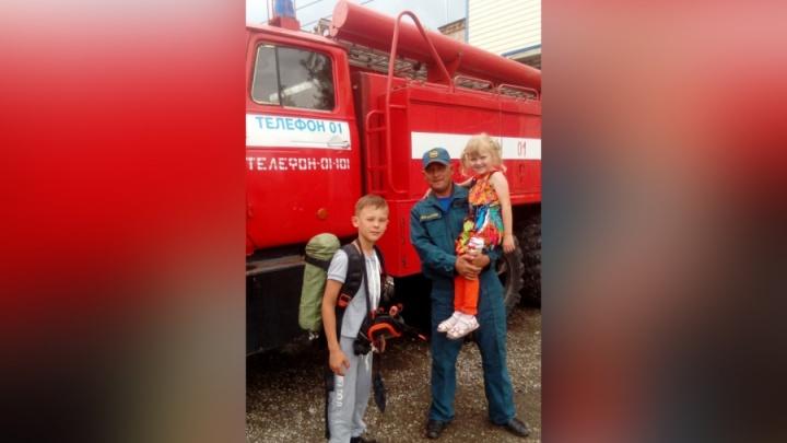 Не раздумывал ни секунды: на Южном Урале пожарный спас из реки тонущую девочку