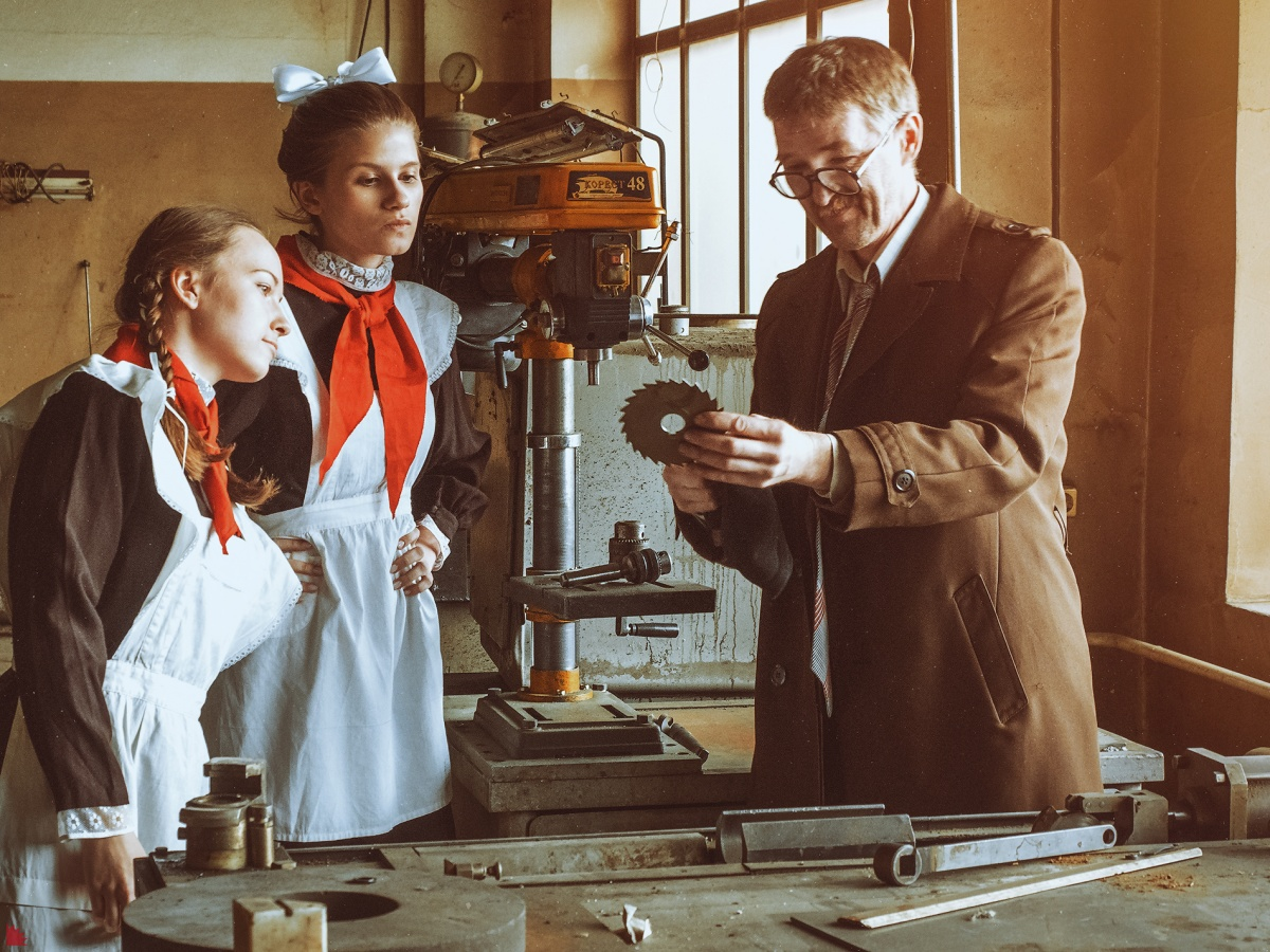 Разглядываем кадры из прошлого: в Екатеринбурге провели ностальгическую фотосессию в стиле СССР
