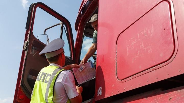 Московскую трассу в Волгоградской области закрыли для фур из-за жары