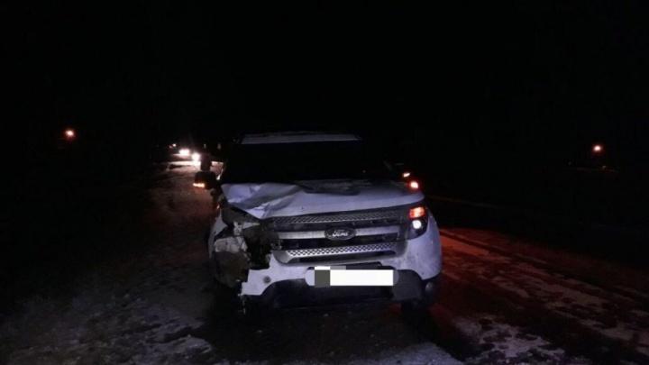 На трассе в Башкирии Ford сбил насмерть 76-летнего мужчину