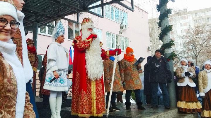 В Самару приехал Дед Мороз из Великого Устюга