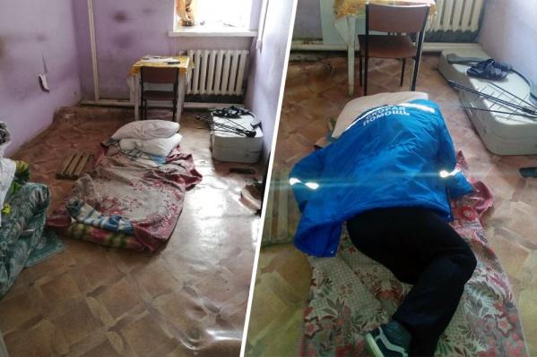 Так, по словам автора фото, выглядит комната отдыха для бригады скорой помощи в Няндоме