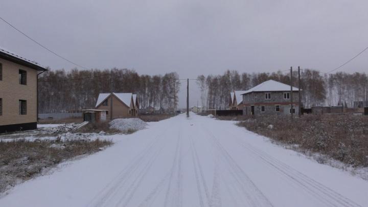 «Подарок на Новый год»: посёлок под Челябинском остался без света, газа и отопления