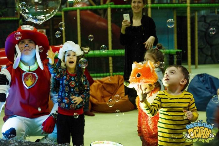 В новогодние каникулы детей можно отправить на «Остров» на целый день