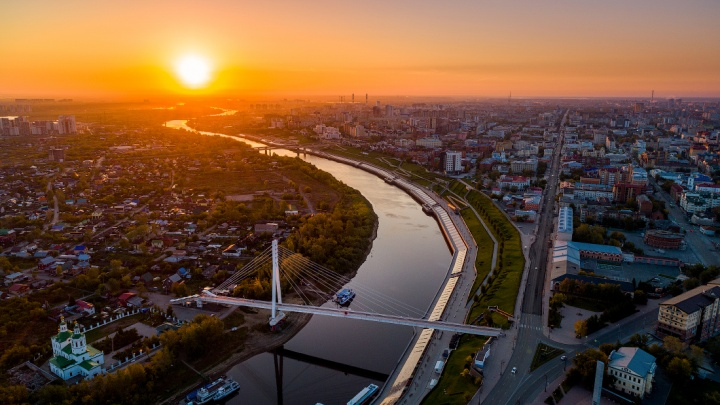 Тюменской области 75 лет. 13 кадров лучших уголков города и области от тюменцев