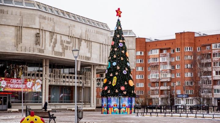 Ярославль не успели украсить к дате, к которой просил мэр