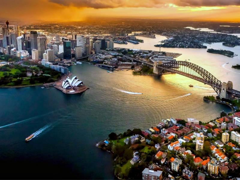 Фестивальная среда в Австралии отличается особым размахом