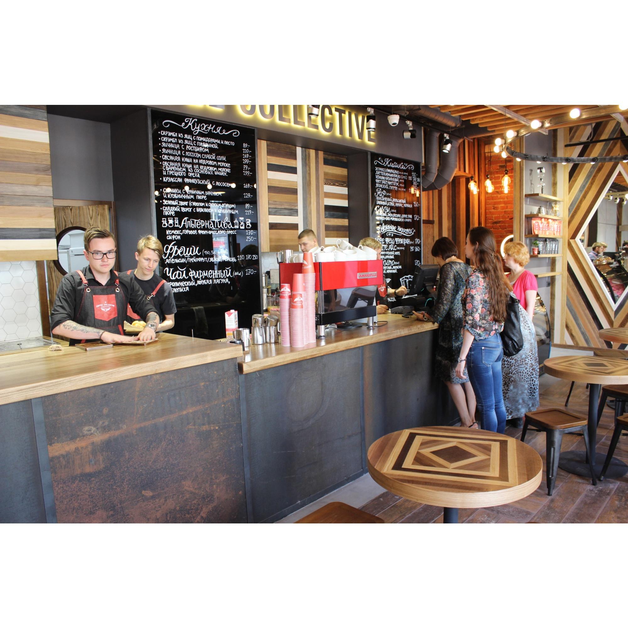 Первое заведение Coffee Collective на Красном проспекте