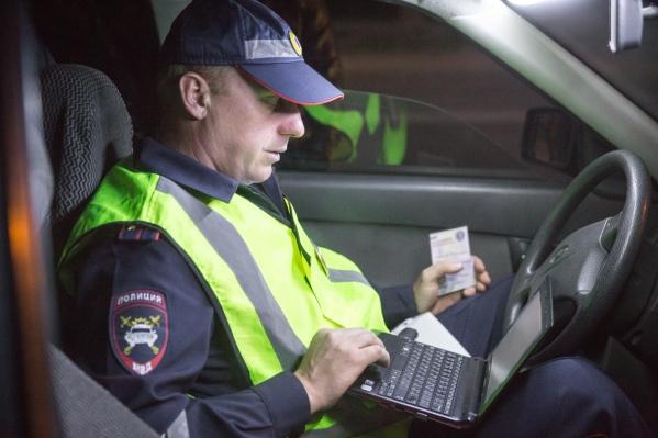 Всего за выходные автоинспекторы поймали 37 водителей