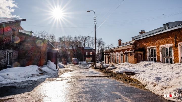 Карта позора Перми: инфекционная больница — квартал красивых, но старых бараков в центре города