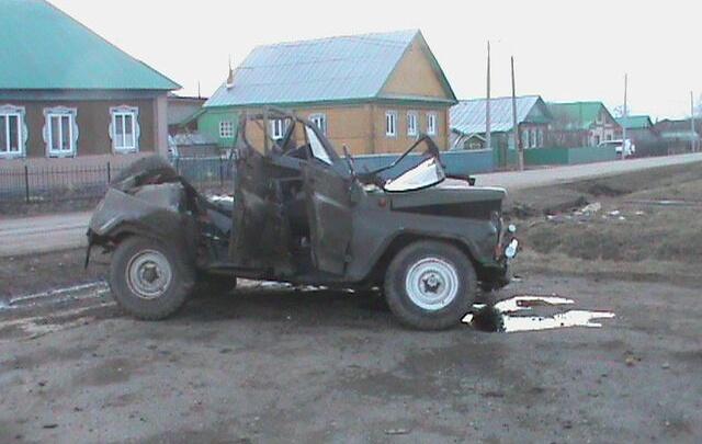 Смертельная авария на трассе в Башкирии: уазик улетел в кювет