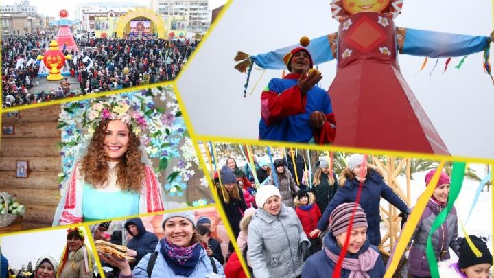 «Сгинь уже, зима!»: самарцы отметили Масленицу соревнованиями в формате ню и шумными сражениями