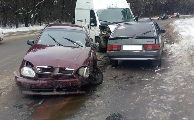 В Шадринске в ДТП пострадала годовалая девочка