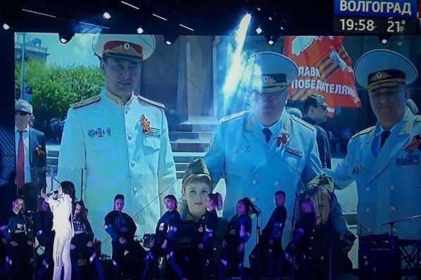 Десятки тысяч волгоградцев увидели на сцене бывшего главу волгоградского СУ СК