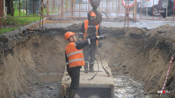 Посёлок аэропорта, Выучейского и Комбинатовская: где в Архангельске отключили отопление и воду