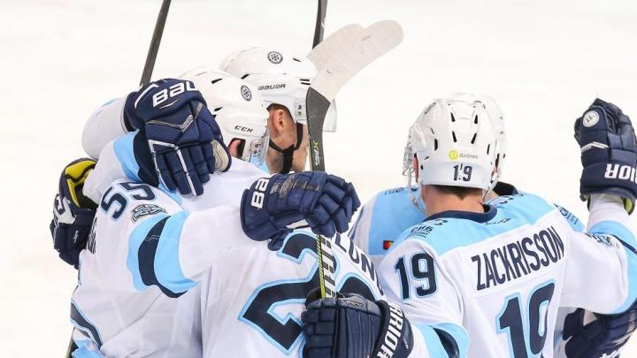Хоккей: «Сибирь» одержала волевую победу над «Ладой»