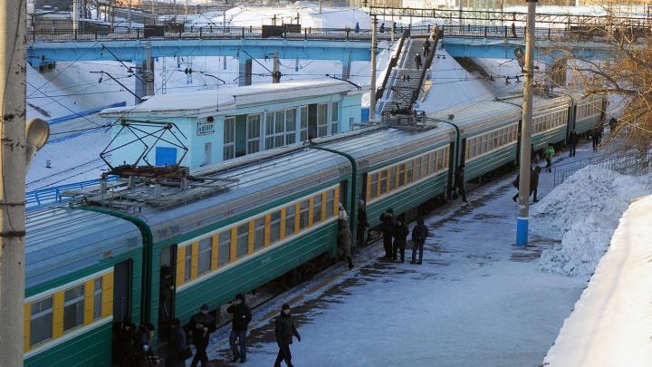 РЖД объявили о смене расписания электричек от главного вокзала Новосибирска