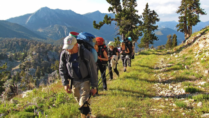 В горах Башкирии спасатели отыскали пропавшую группу туристов