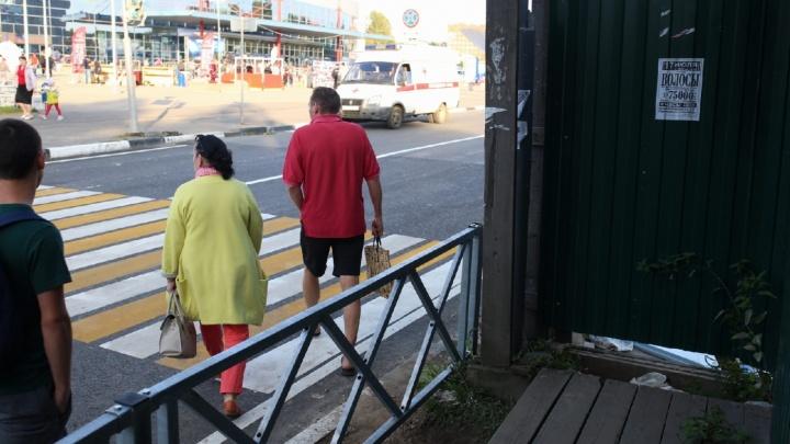 «Не знают линий желаний людей»: рыбинец о том, почему у нас нет удобных дорог для пешеходов