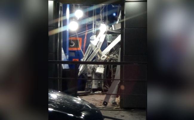 Шарик и газ: уфимские «медвежатники» взорвали банкомат