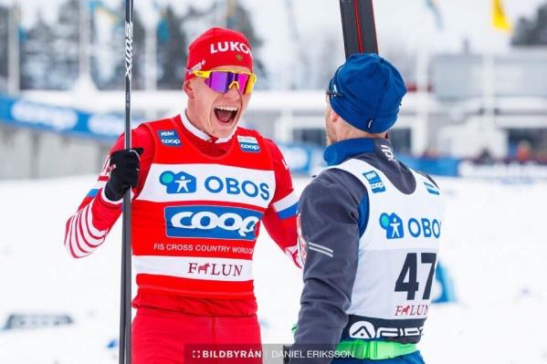 Александр Большунов принес в копилку сборной России очередное золото