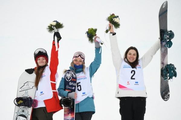 Золото в сноуборде у россиянки Елены Костенко