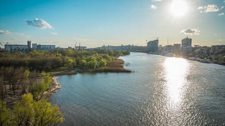 Жара и солнце: рассказываем, какая погода будет в Ростове на рабочей неделе