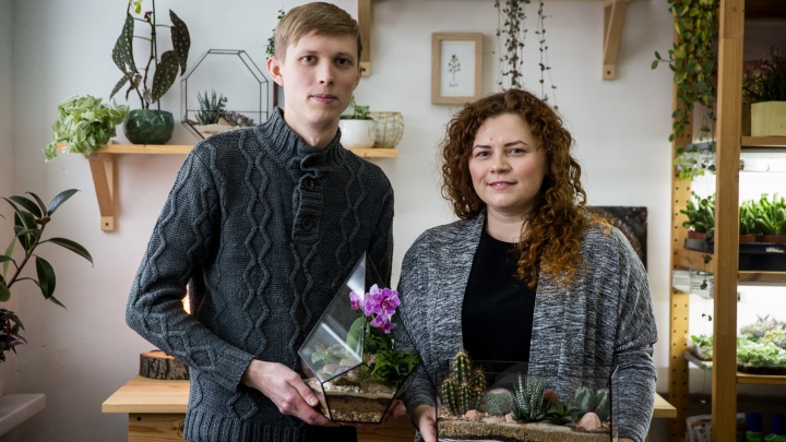 «Мы морили их голодом, заливали, сушили»: история семьи из Новосибирска, которая делает бизнес на растениях