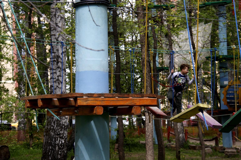 Один круг в экстрим-парке стоит от 200 рублей (на самом нижнем уровне) до 350 рублей
