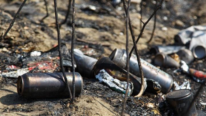 В Волгограде клиент и путана насмерть забили пенсионерку табуреткой и сожгли в овраге