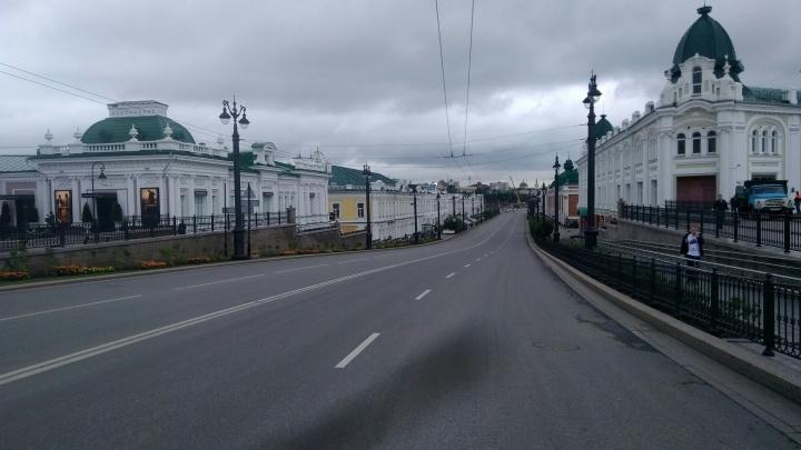 Омск в ожидании Путина