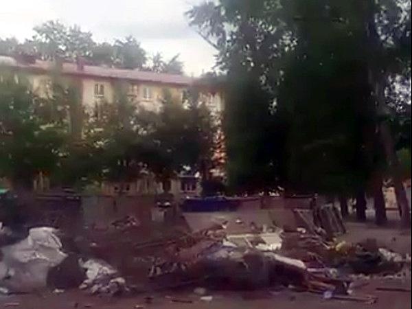 Жительница Омска жаловалась президенту на сор водворе